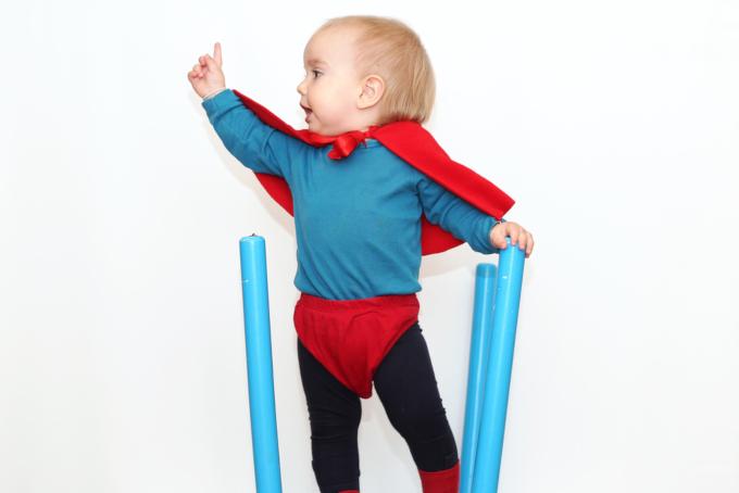 生まれつき筋肉が発達している赤ちゃん