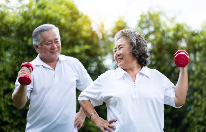 筋肉量と年齢の関係