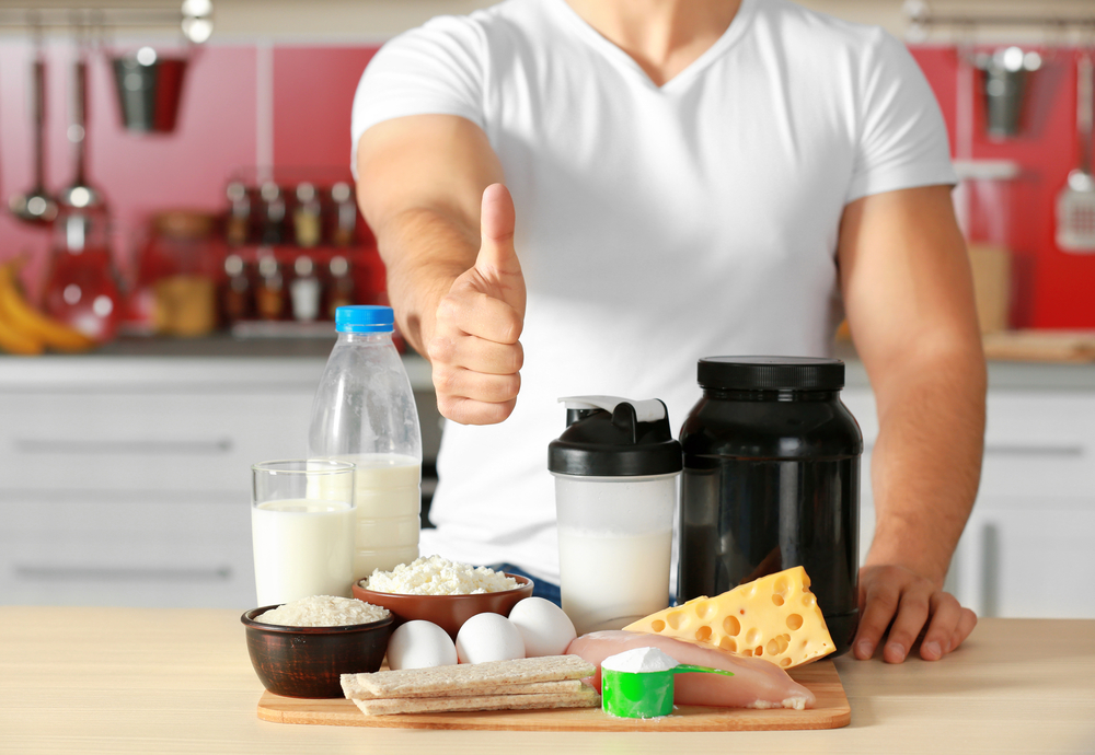成人男性に必要なたんぱく質摂取量