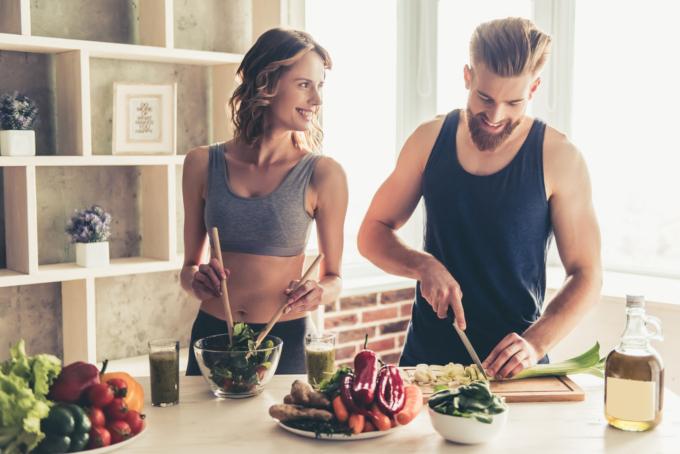 三大栄養素のバランスを考えた食事法で理想の体を