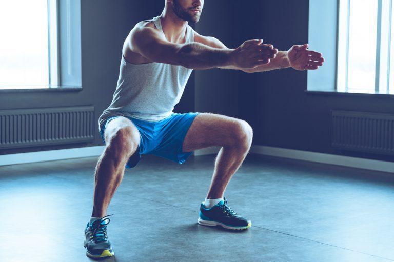 自宅で行なう筋力トレーニング